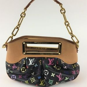 Louis Vuitton Multi Colored Judy PM Bag